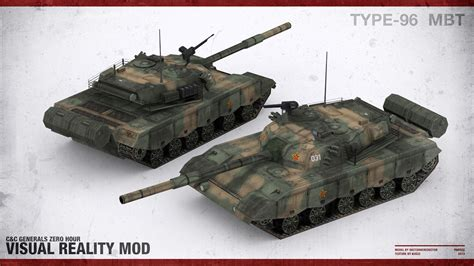 type 96 battle tank image c c generals visual