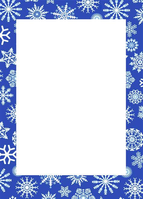 clipart inverno winter border clipart