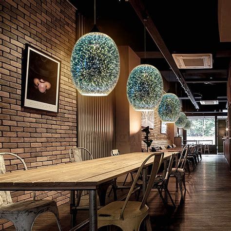 colored pendant lights 3d colored glass shade bar pendant lights