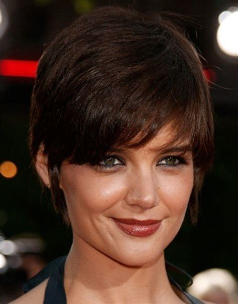 short wedge haircuts with middle part short wedge hairstyles hollywood official