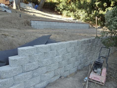 Retaining Wall Blocks Vander Landscaping