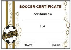 welcome certificate templates 30 soccer award certificate templates free to
