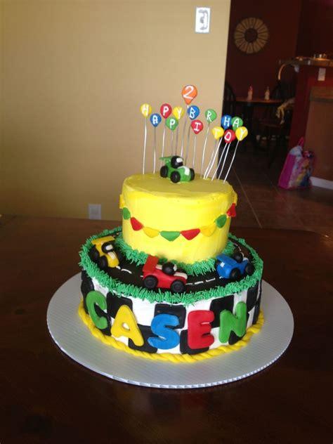 race car birthday cake    year   boy buttercream  fondant accents