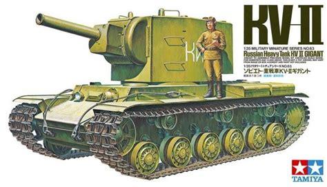 Tamiya 148 Russian Heavy Tank Kv 2 Gigant tamiya 35063 1 35 scale model kit wwii soviet russian