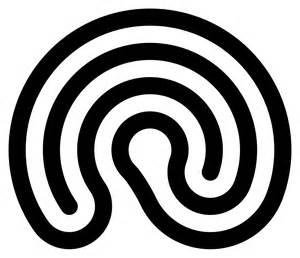 Labyrinth Outline by File Half Labyrinth Svg Wikimedia Commons