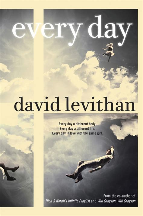 from the day books book review every day by david levithan the daily quirk