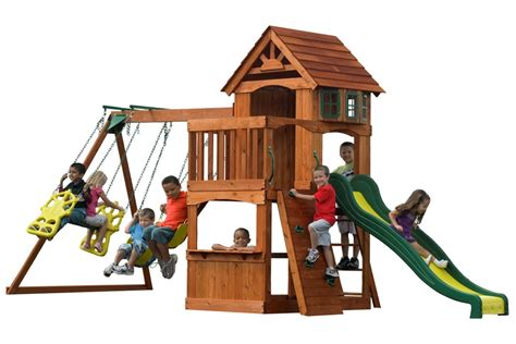 backyard playsets for kids outdoor playhouses toddlers harper noel homes best