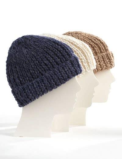 bernat free knitting patterns bernat knit family toques knit pattern yarnspirations
