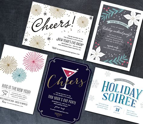 holiday party invitations hooray creative