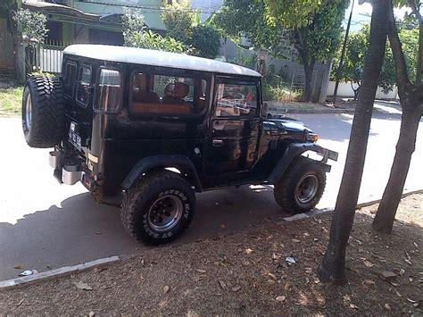 Jual Karpet Toyota Hardtop landcruiser hardtop 40 series diesel hitam mobilbekas