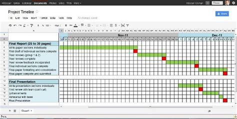 Project Calendar Template Excel Free by 4 Project Timeline Excel Templates Excel Xlts