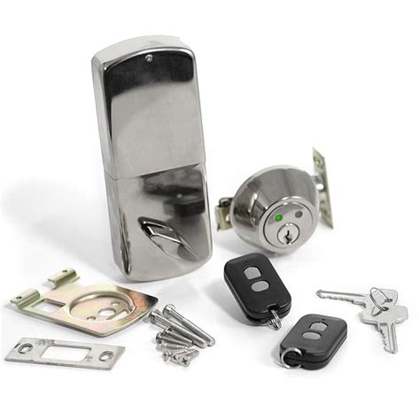 get a remote controlled dead bolt lock for your