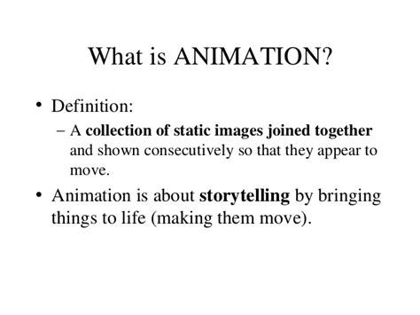 Anime Definition by Animation