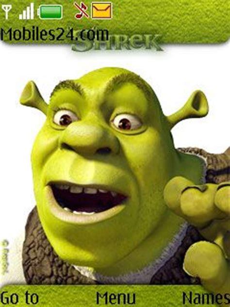 6300 themes cartoons shrek free nokia 6300 theme download download free shrek