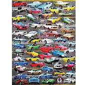 50 Years Of Mustangs Jigsaw Puzzle  PuzzleWarehousecom