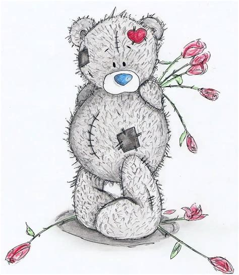 teddy bear christmas cookie besides tattoo drawing designs as well 35 beautiful pictures and photos of tatty teddy bears
