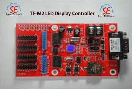 Harga Led Matrix Rgb jual modul controller running text kontroller led moving