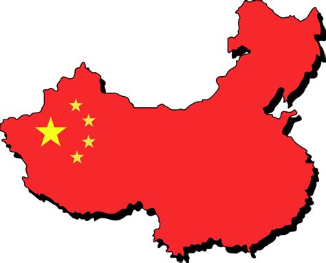 Clipart China map of china clipart clipart best
