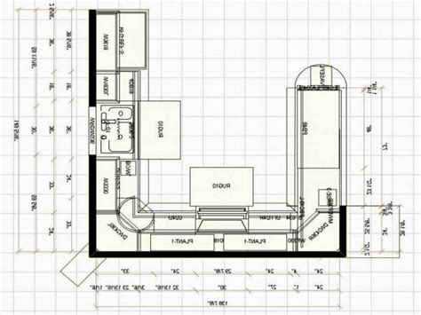 Kitchen Floor Plans Small Kitchen Floor Plan Ideas Picture Desk Design Best Small U Shaped Kitchen Floor Plans