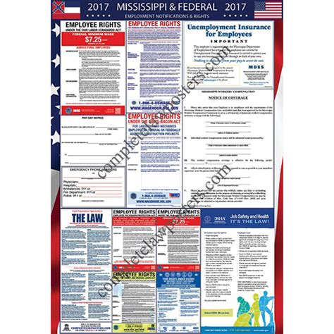 2018 mississippi labor poster state federal