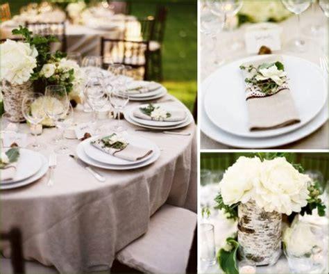 Naturdeko Hochzeit by Tischdeko Hochzeit Hochzeitsdekoideen F 252 R Ein