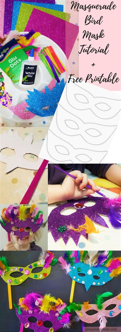 children s mask templates the 25 best masquerade mask template ideas on