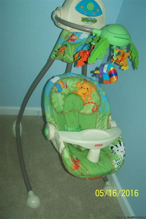 fisher price rainforest swing parts rainforest baby swing for sale classifieds