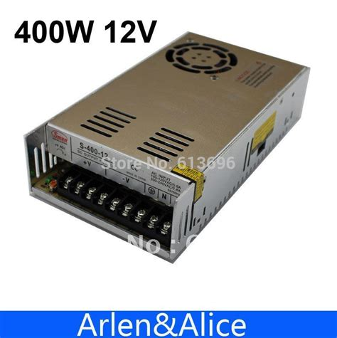 Power Supply Vinder 12v Dc 33a Proof High Quality 400w 12v 33a single output switching power supply for led smps ac to dc us27