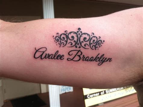 daughter name tattoos for men a s name on