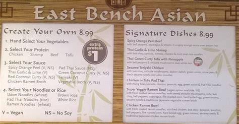 the bench menu whole foods trolley square menus slc menu