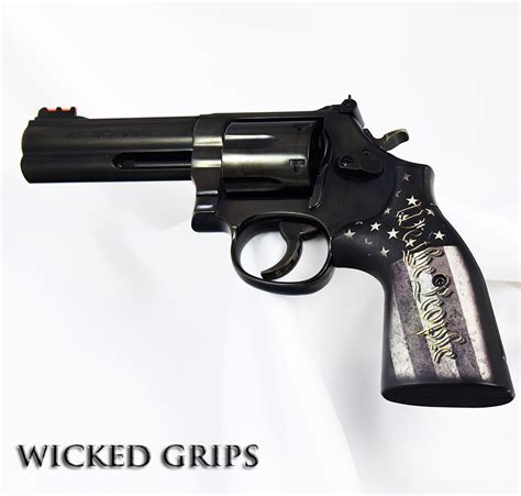 Pistol L by Smith Wesson K L And X Frame Revolver Grips We The