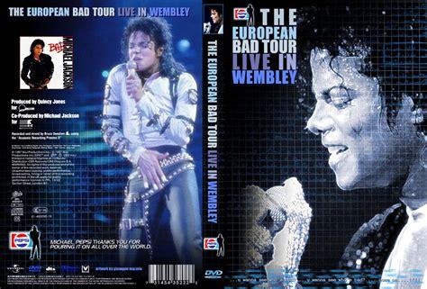 michael jackson quot bad quot live bad tour michael jackson fansquare forum dvd cover bad