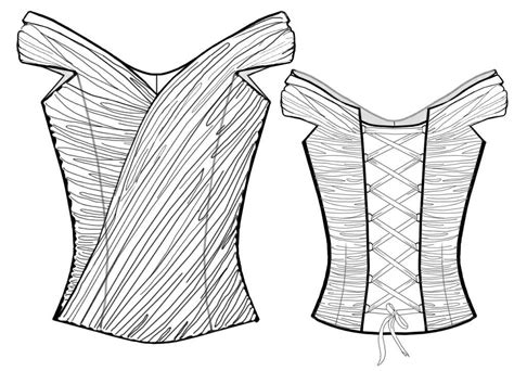pattern drawing online corset sewing pattern 2016 made to measure sewing