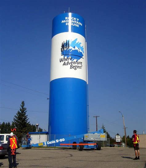 Mountain House Water by Rocky Water Tower To Slowly Come This Month