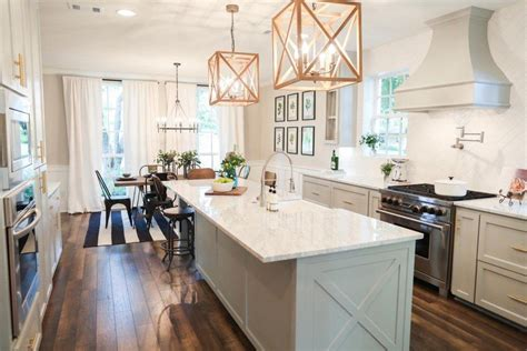 To Market Green Kitchen by Fixer Joanna Gaines House Seasons And Pendant