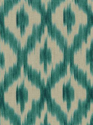 turquoise ikat curtains turquoise linen ikat fabric linen upholstery fabric