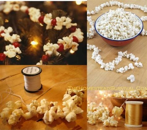 how to string popcorn for tree string cranberry popcorn garland for tree the