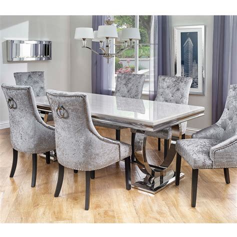 dining table and chairs for 6 cookes collection valentina dining table and 6 chairs