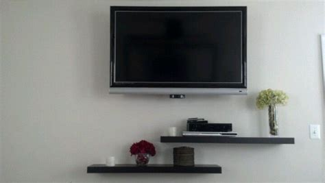 Tv On Floating Shelf by Floating Shelves Tv For The Home