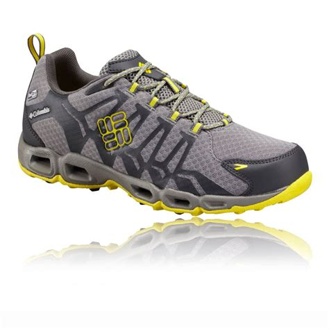 mens waterproof sneakers columbia ventrailia outdry sneakers mens yellow grey