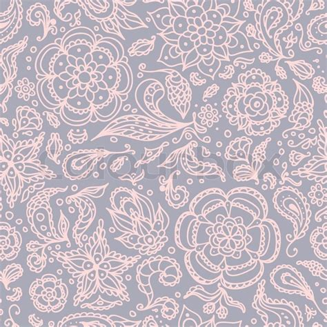 pink and grey pattern wallpaper seamless abstract floral pattern with flowers petals