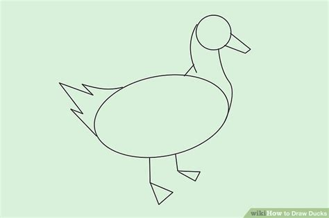 how to draw ducks how to draw ducks with pictures wikihow