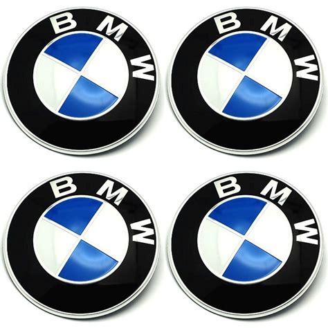 Bmw Sticker 56 Mm by 4 X Bmw Emblem Felgen Aufkleber Logo Nabendeckel