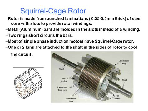 squirrel cage rotor induction motor 1 induction machines 1 1 introduction ppt