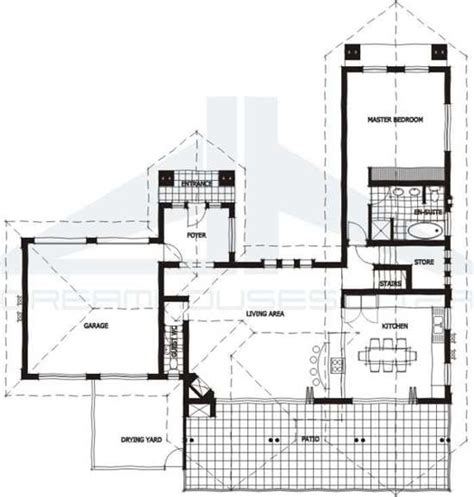 African House Plans Thatch House Plans