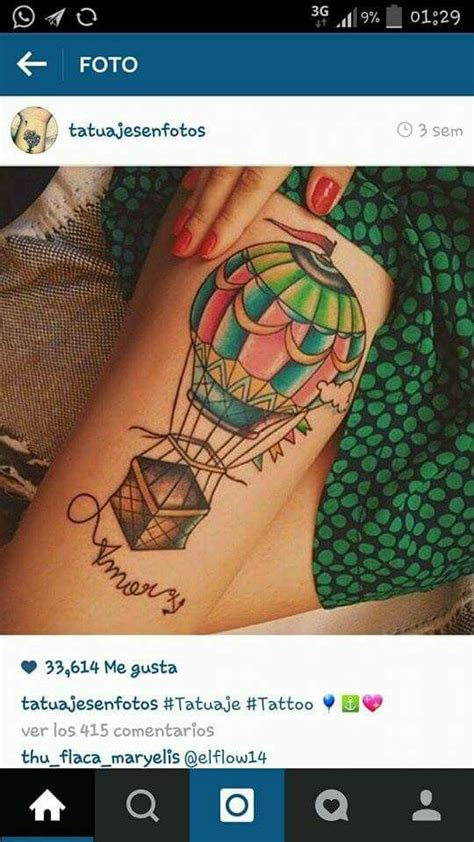 watercolor tattoo utrecht 17 best images about globo aerostatico on