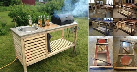 easy outdoor kitchen ideas presented to your place of