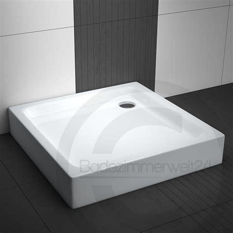 hohe duschwanne zum baden hohe duschwanne quadrat aquabad 70 80 90 cm