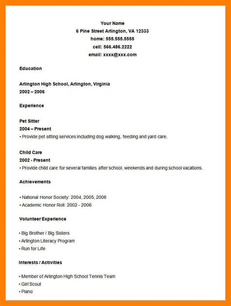 general resume layout 9 general resume format mla cover page
