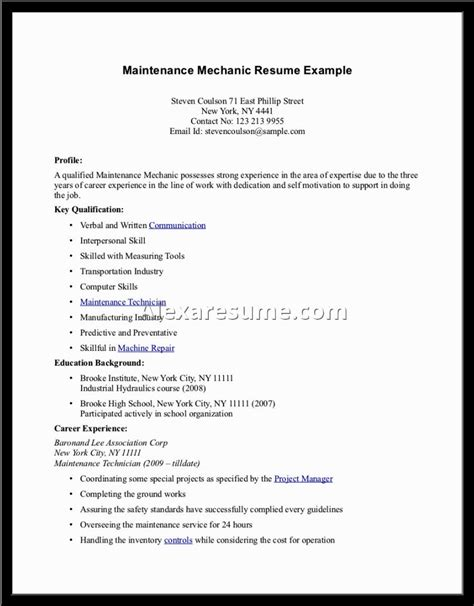 sle of resume for high school student resume exles for high school students with no experience